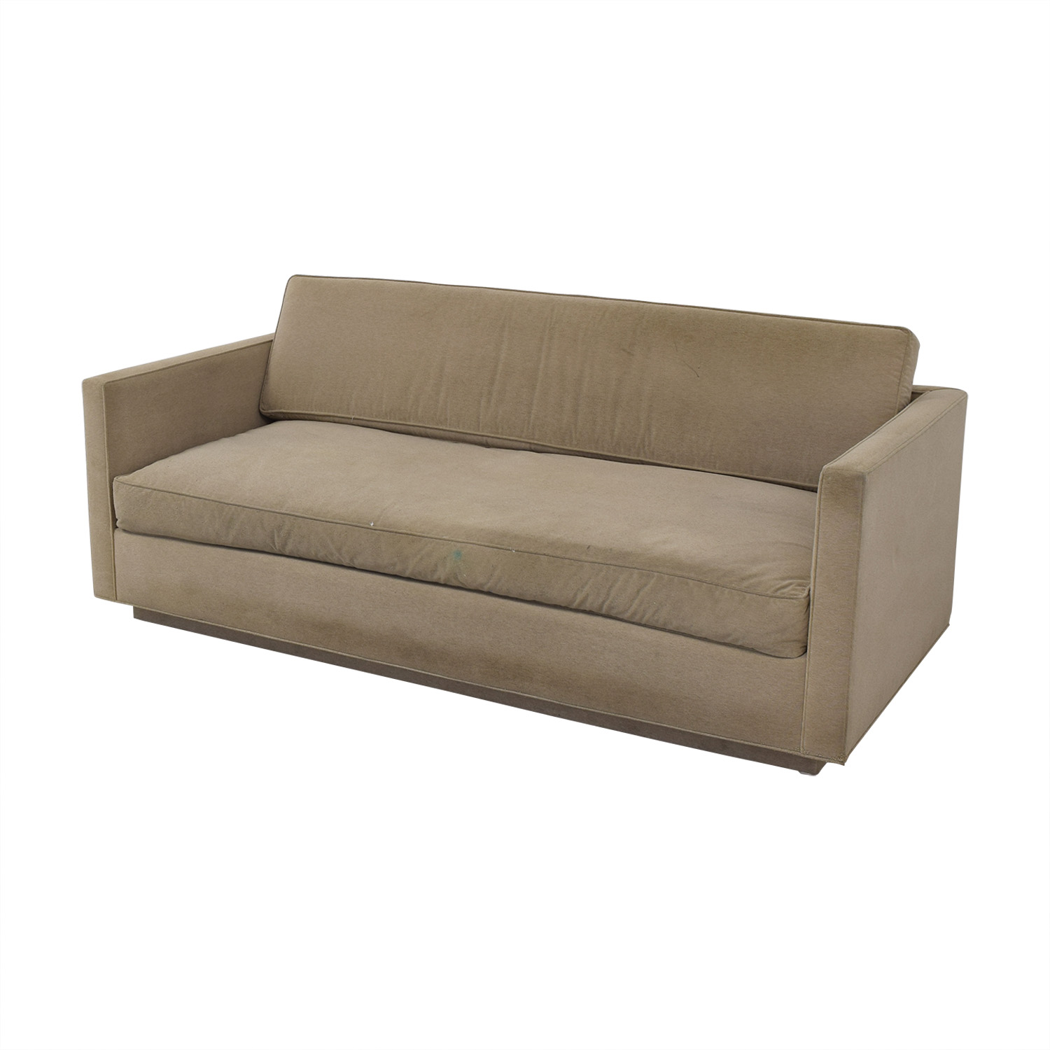 Todd Hase Todd Hase One Cushion Sofa used