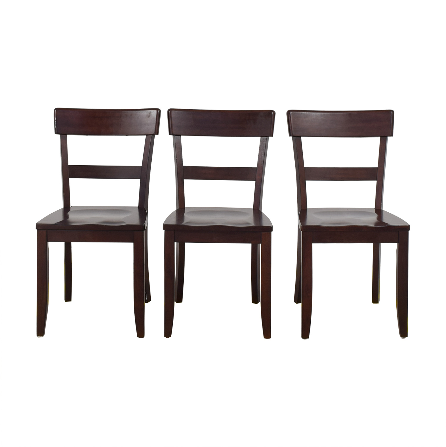 74% OFF - Pottery Barn Pottery Barn Metropolitan Dining Chairs / Chairs