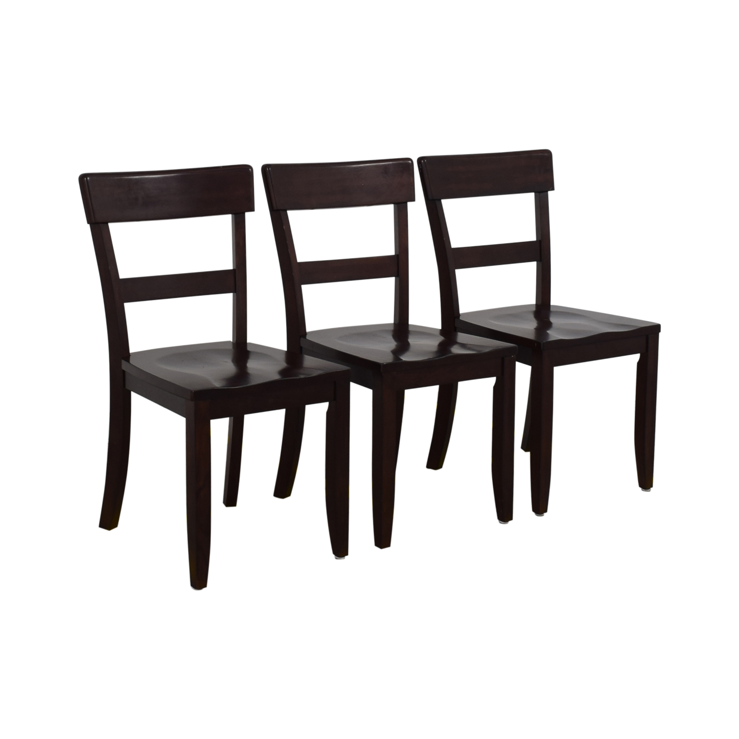 76% OFF   Pottery Barn Pottery Barn Metropolitan Dining Chairs / Chairs