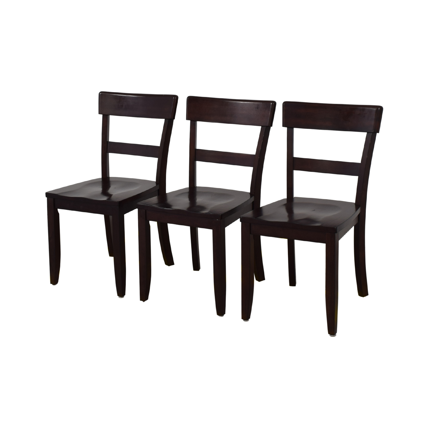 76% OFF - Pottery Barn Pottery Barn Metropolitan Dining Chairs / Chairs