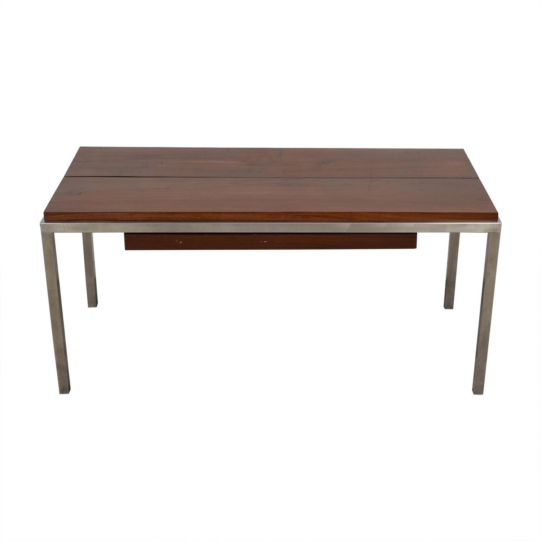 Custom Teak Desk Tables