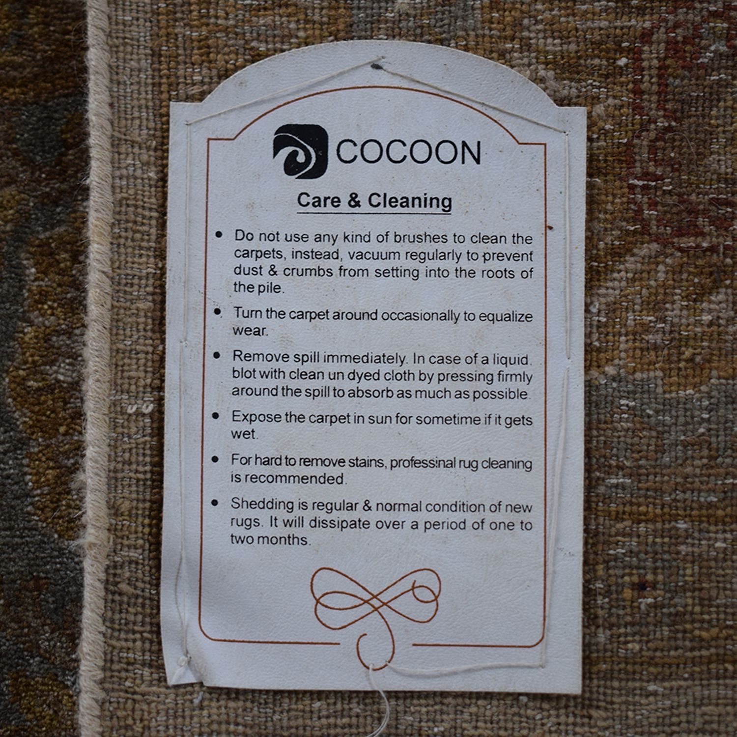 Cocoon Handwoven Rug / Decor