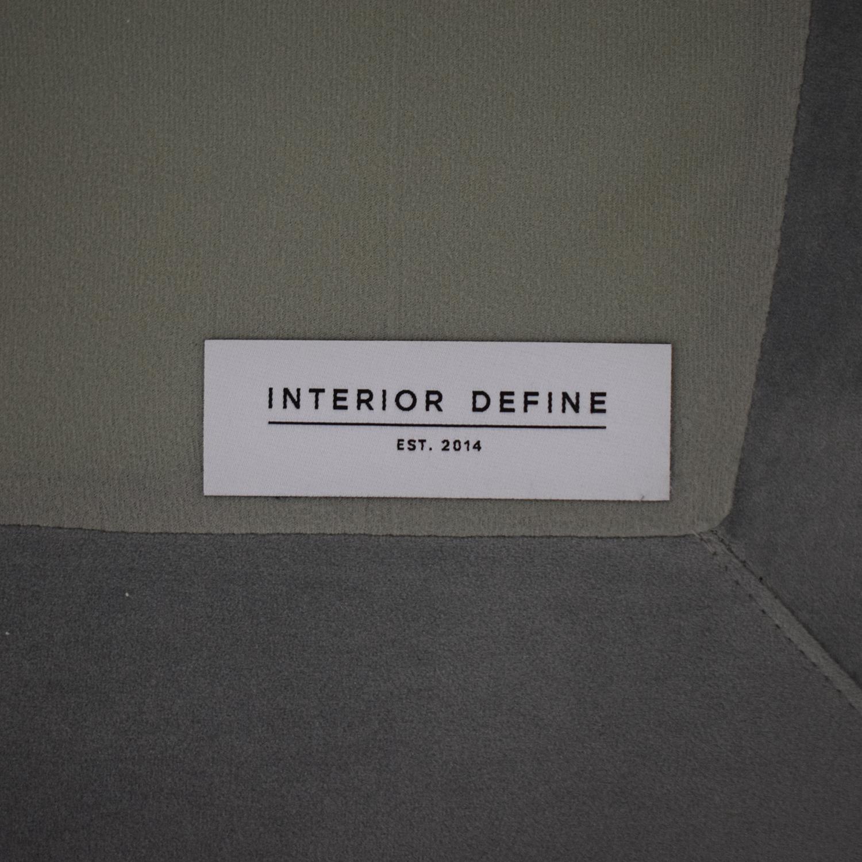 Interior Define Interior Define Jasper Chaise Sectional Sofa Sectionals