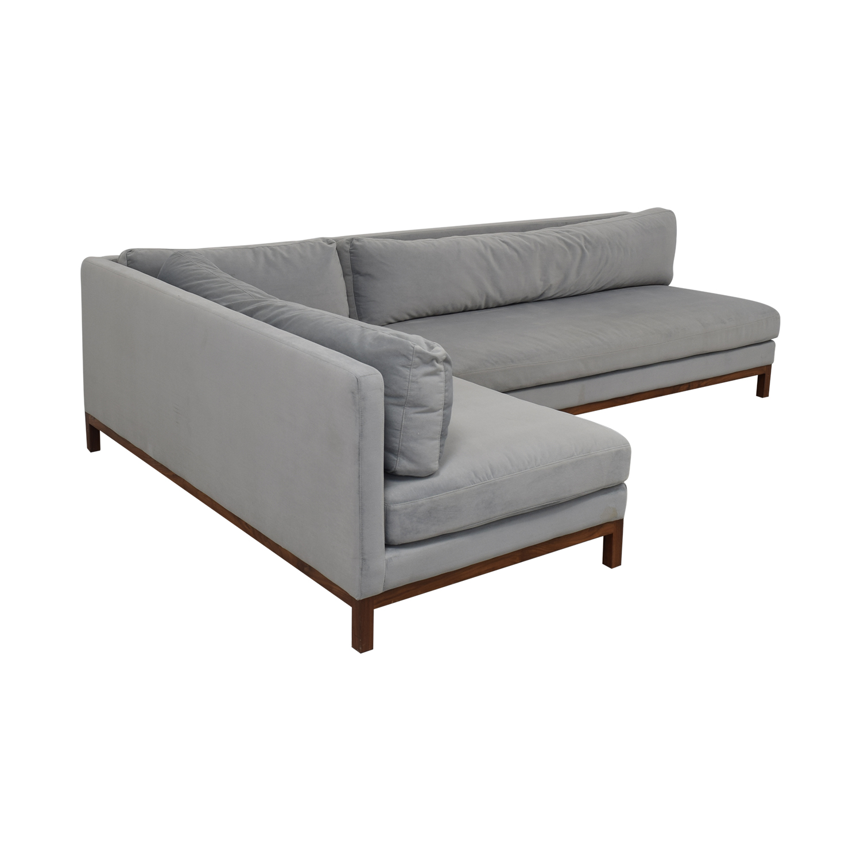 Interior Define Interior Define Jasper Chaise Sectional Sofa coupon