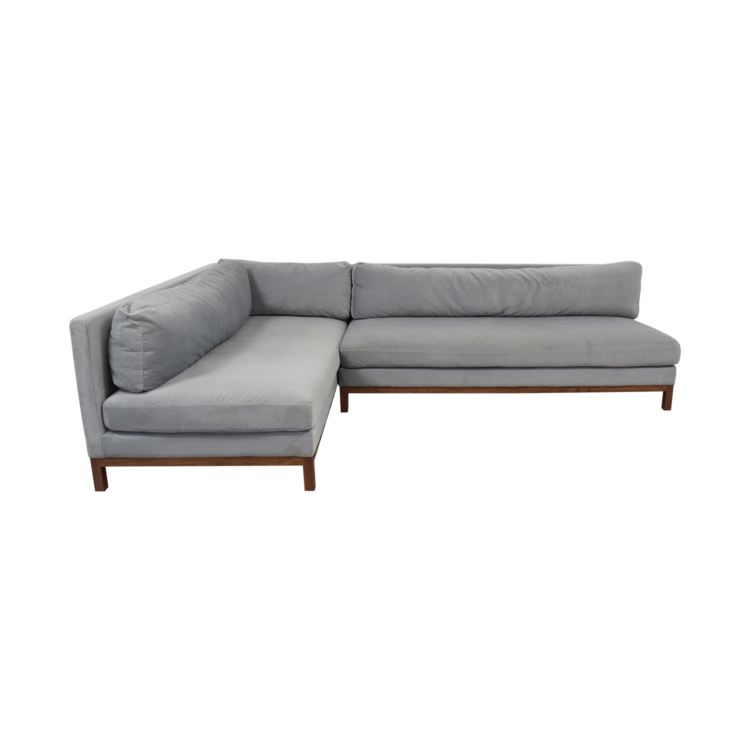 shop Interior Define Jasper Chaise Sectional Sofa Interior Define