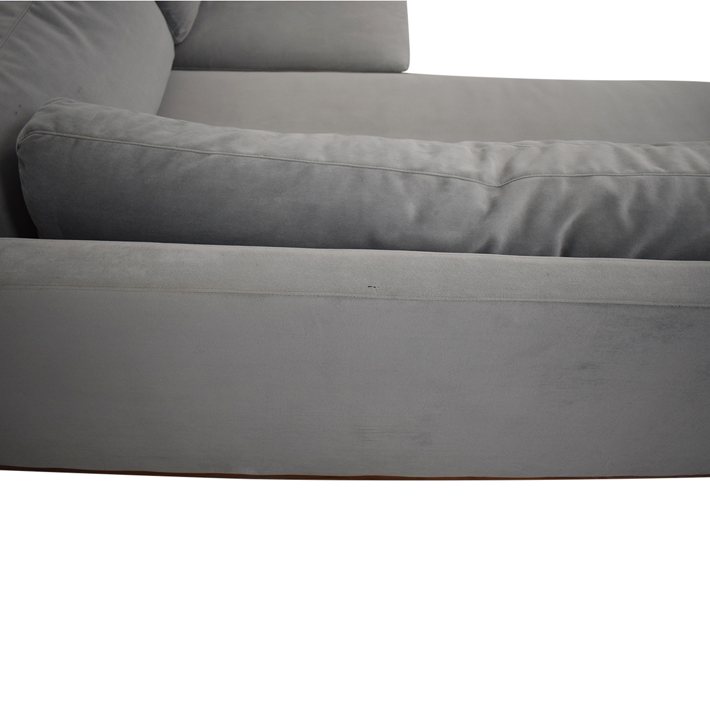 Interior Define Interior Define Jasper Chaise Sectional Sofa discount