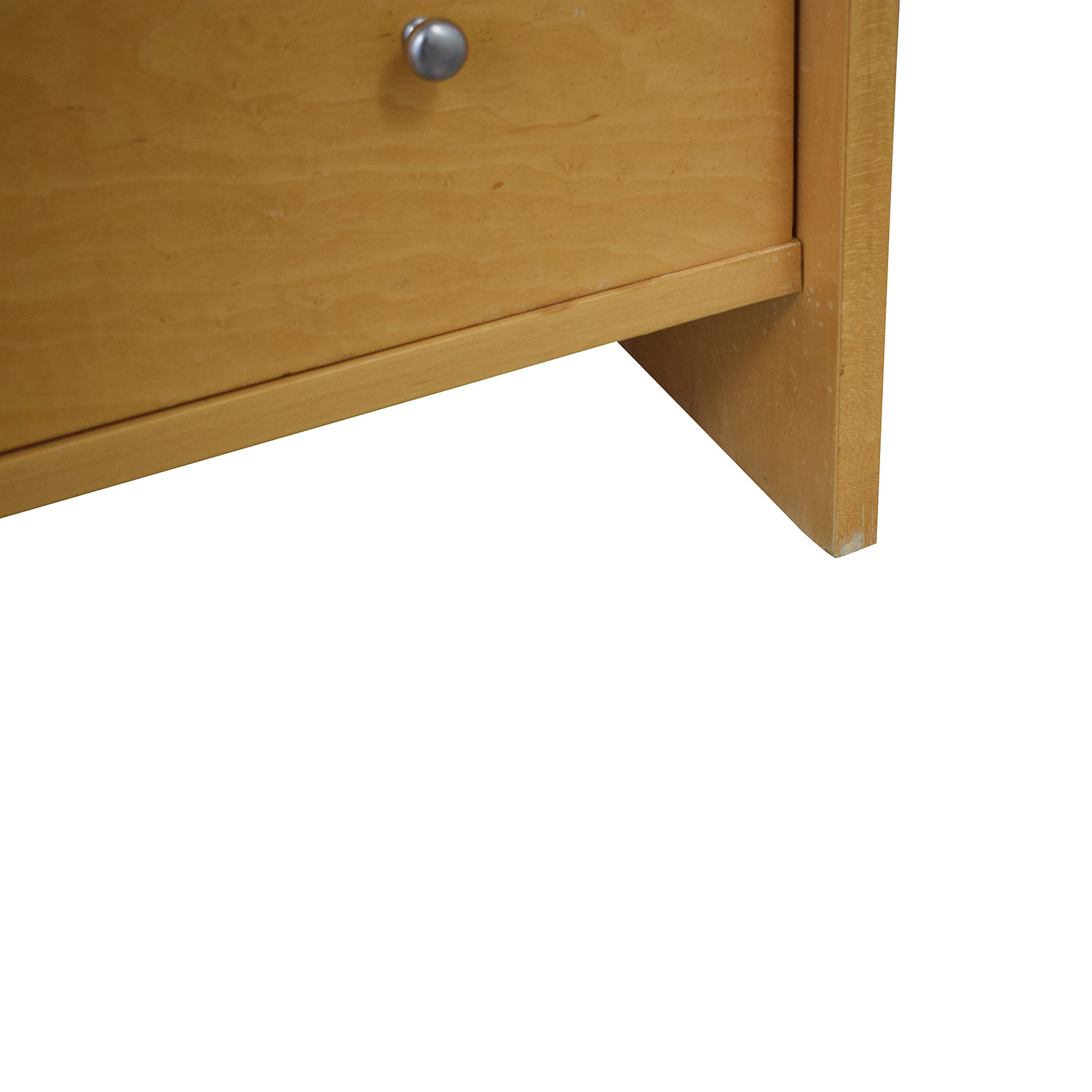buy Natural Wood and Frosted Glass Dresser  Storage
