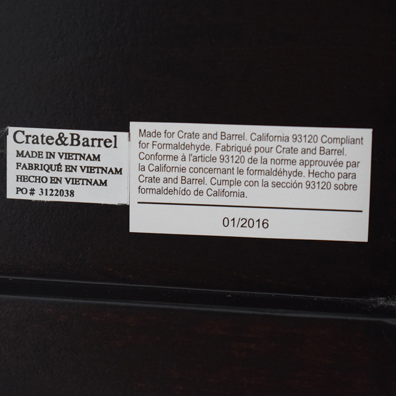 buy Crate & Barrel Colette Nightstand Crate & Barrel End Tables