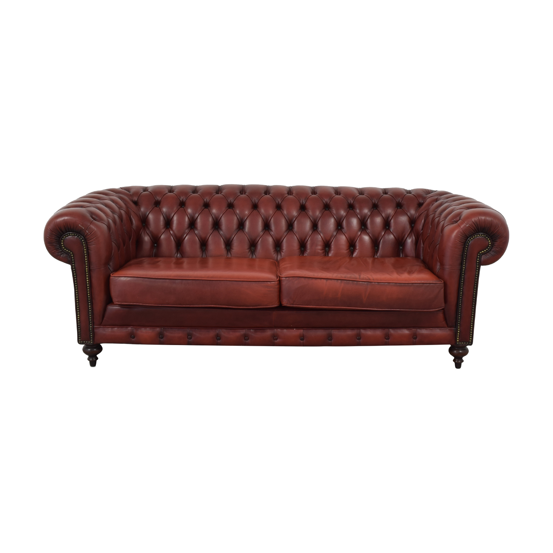 Custom English Chesterfield Sofa Coupon