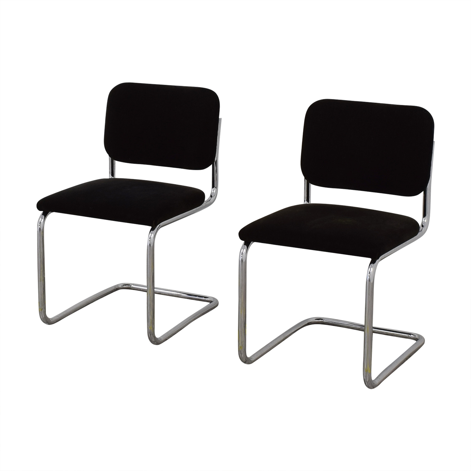 shop Knoll Marcel Breuer Cesca Chairs Knoll Dining Chairs
