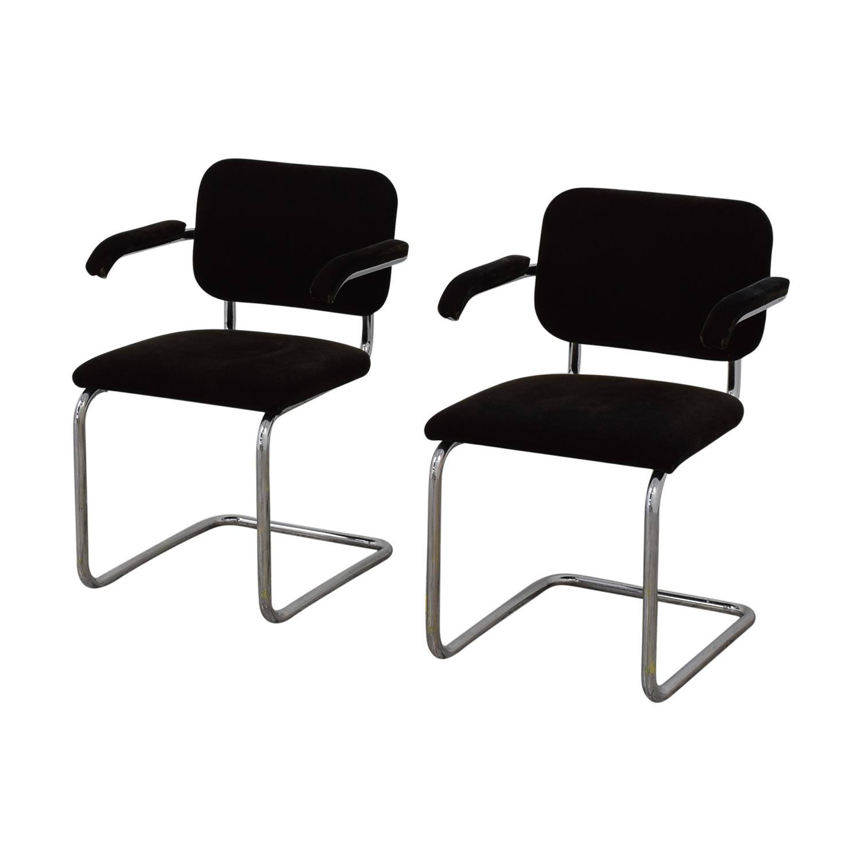 Knoll Marcel Breuer Cesca Chairs Knoll