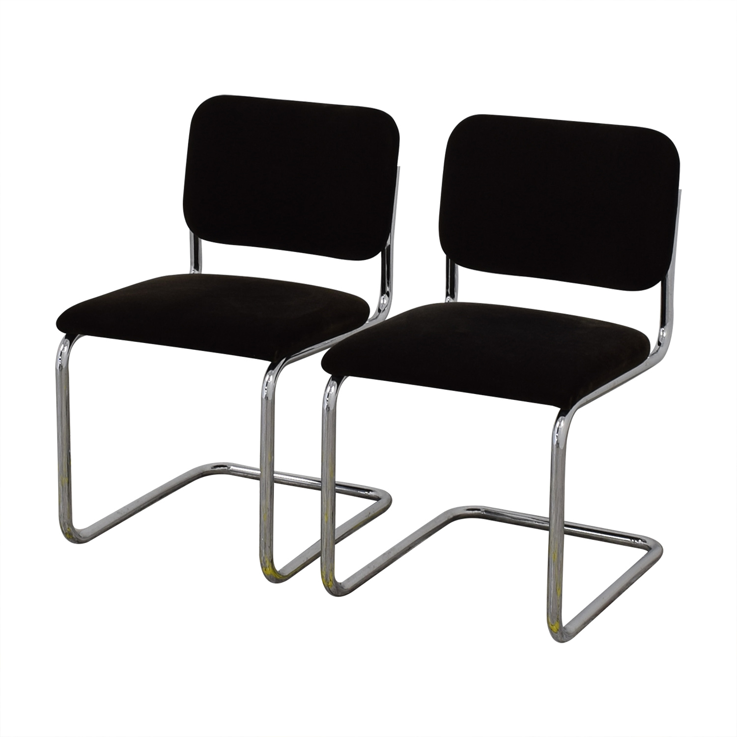 Knoll Knoll Marcel Breuer Cesca Chairs Dining Chairs