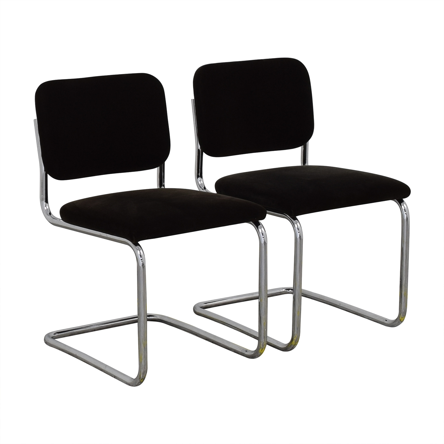 brand new 6d08b 06a42 75% OFF - Knoll Knoll Marcel Breuer Cesca Chairs / Chairs