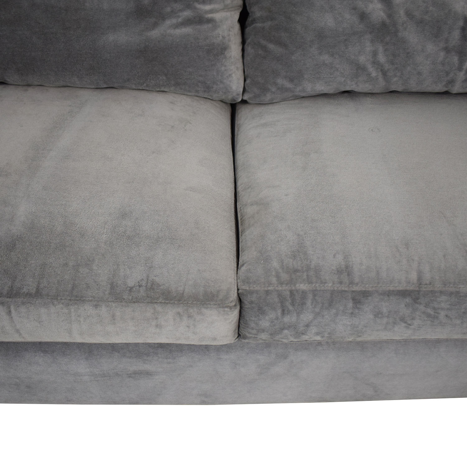 ABC Carpet & Home ABC Carpet & Home Cobble Hill Queen Lucali Sleeper Sofa grey