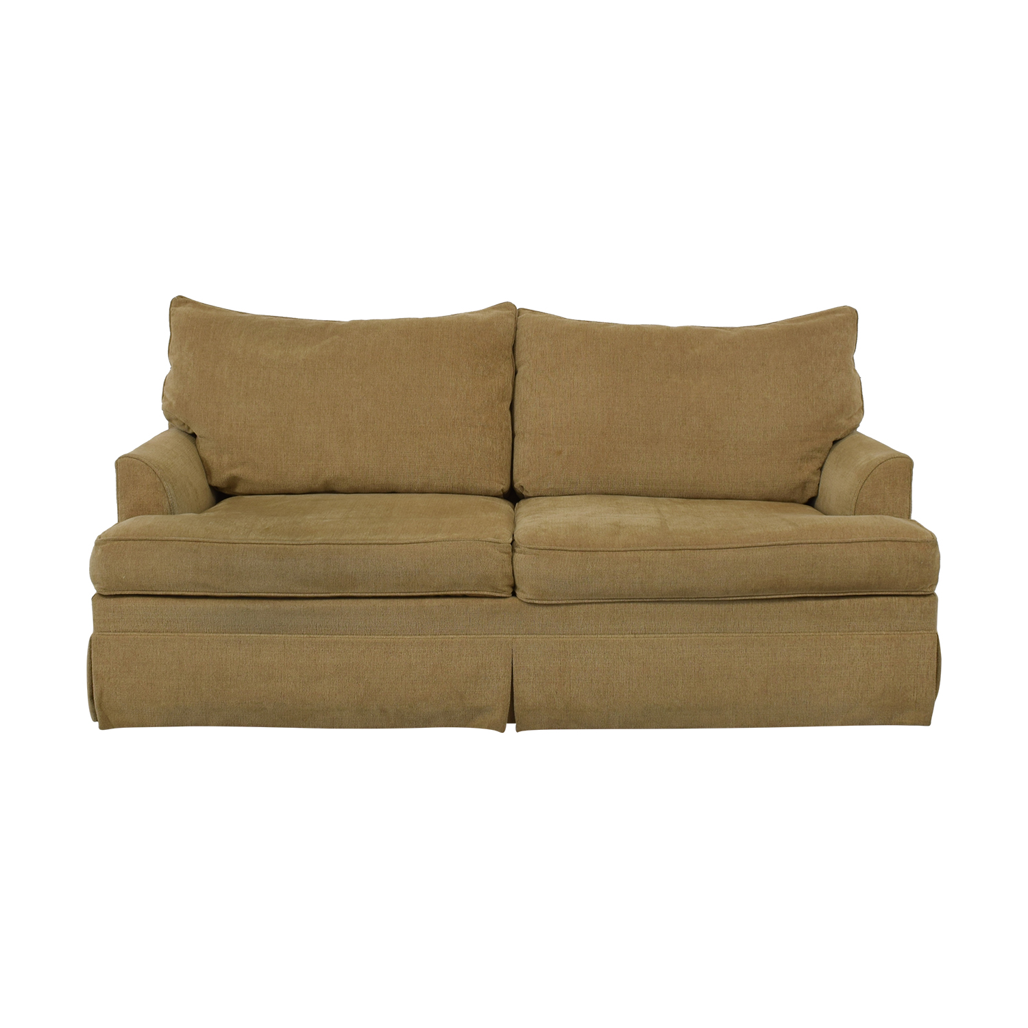 buy Ethan Allen Two Cushion Sofa Ethan Allen