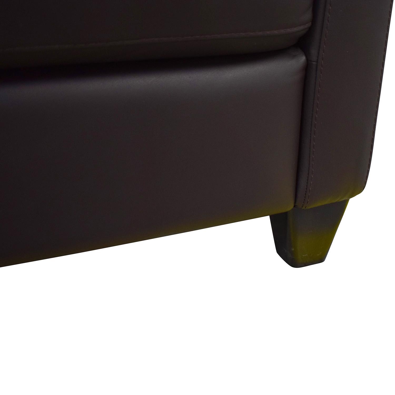 Natuzzi Editions Leather Loveseat / Sofas