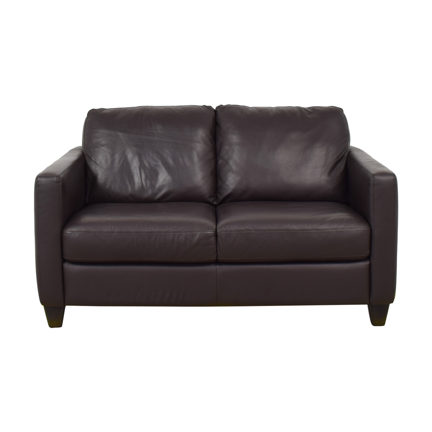 Enjoyable 71 Off Natuzzi Natuzzi Editions Leather Loveseat Sofas Gmtry Best Dining Table And Chair Ideas Images Gmtryco