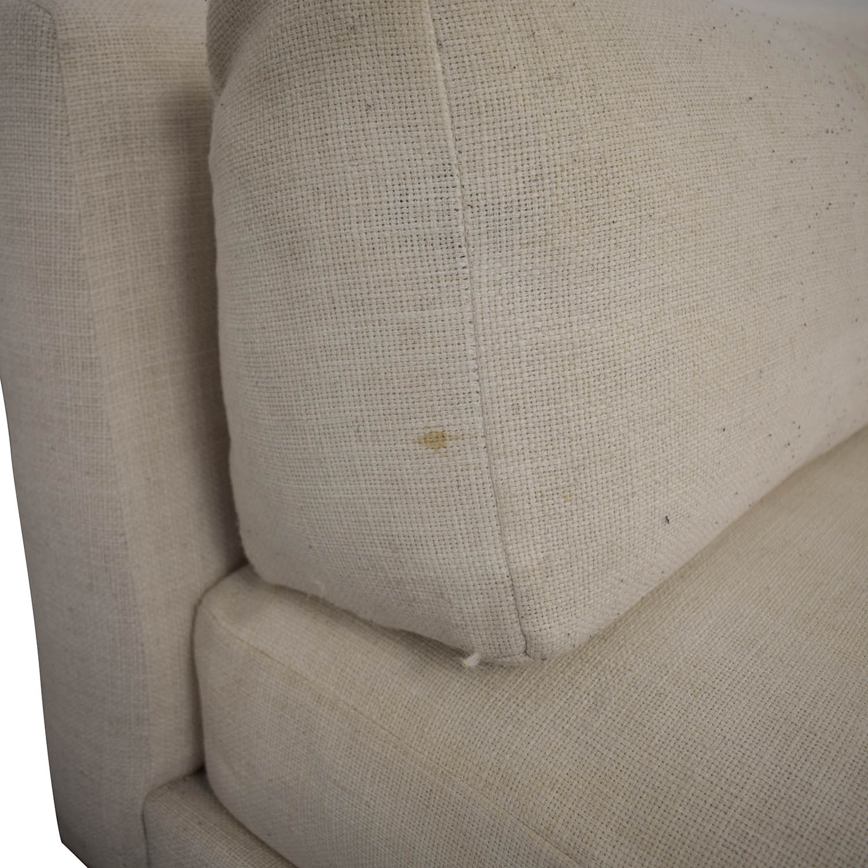 CB2 CB2 Piazza Armless Sofa Classic Sofas