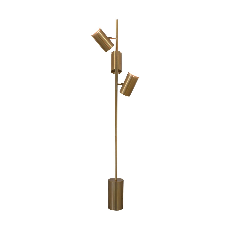 buy CB2 Trio Floor Lamp CB2 Lamps