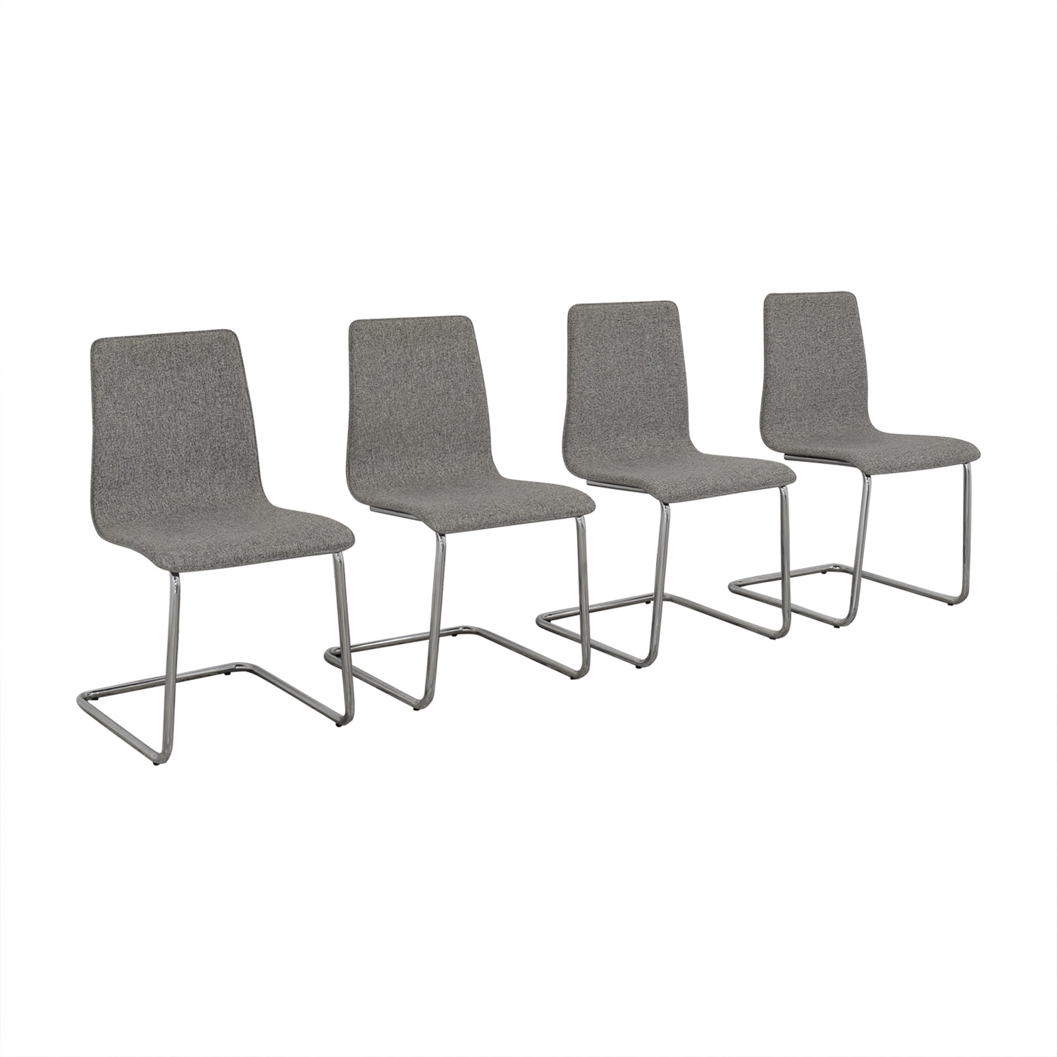 buy CB2 Pony Tweed Chairs CB2 Dining Chairs