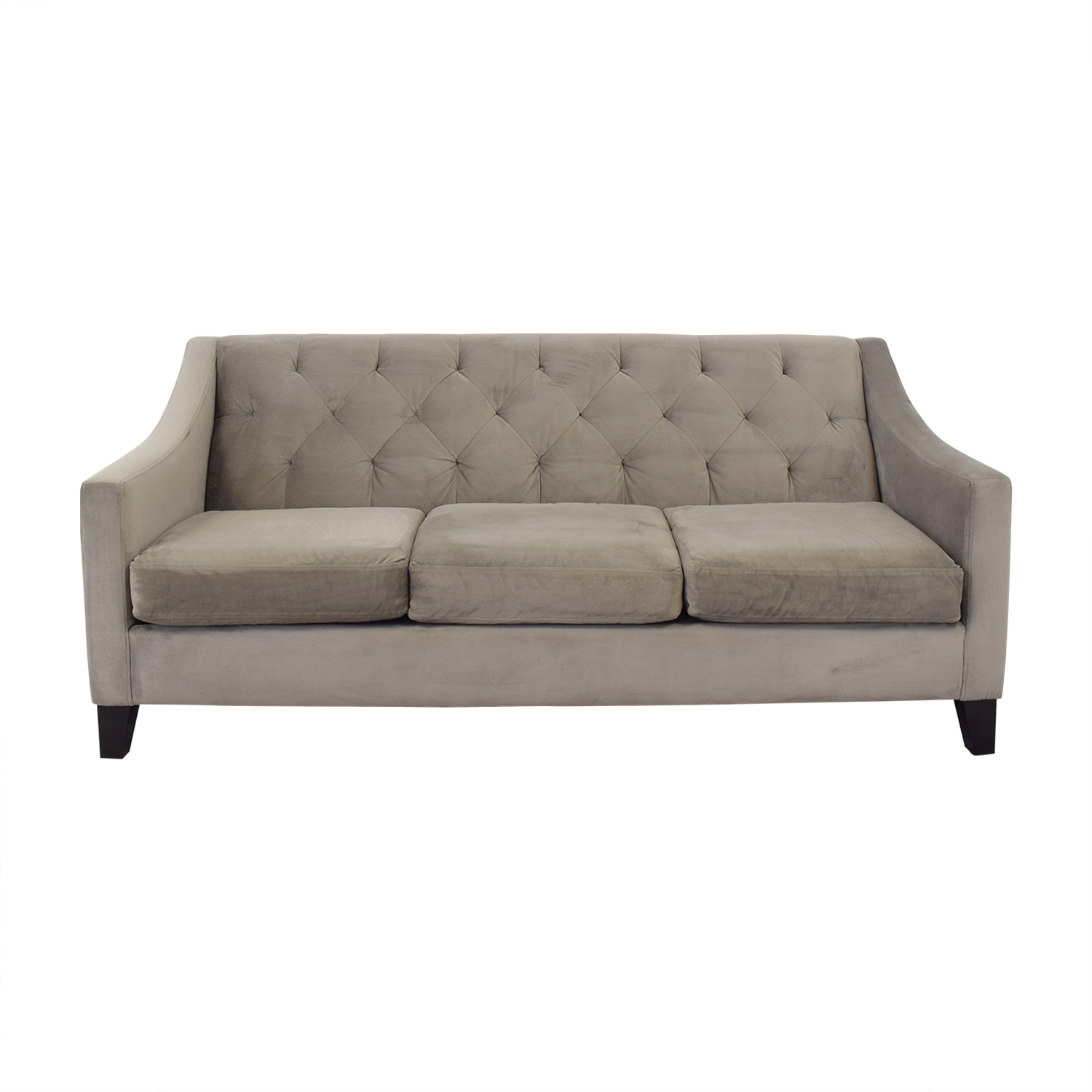 shop Max Home Better By Design Tufted Velvet Sofa Max Home
