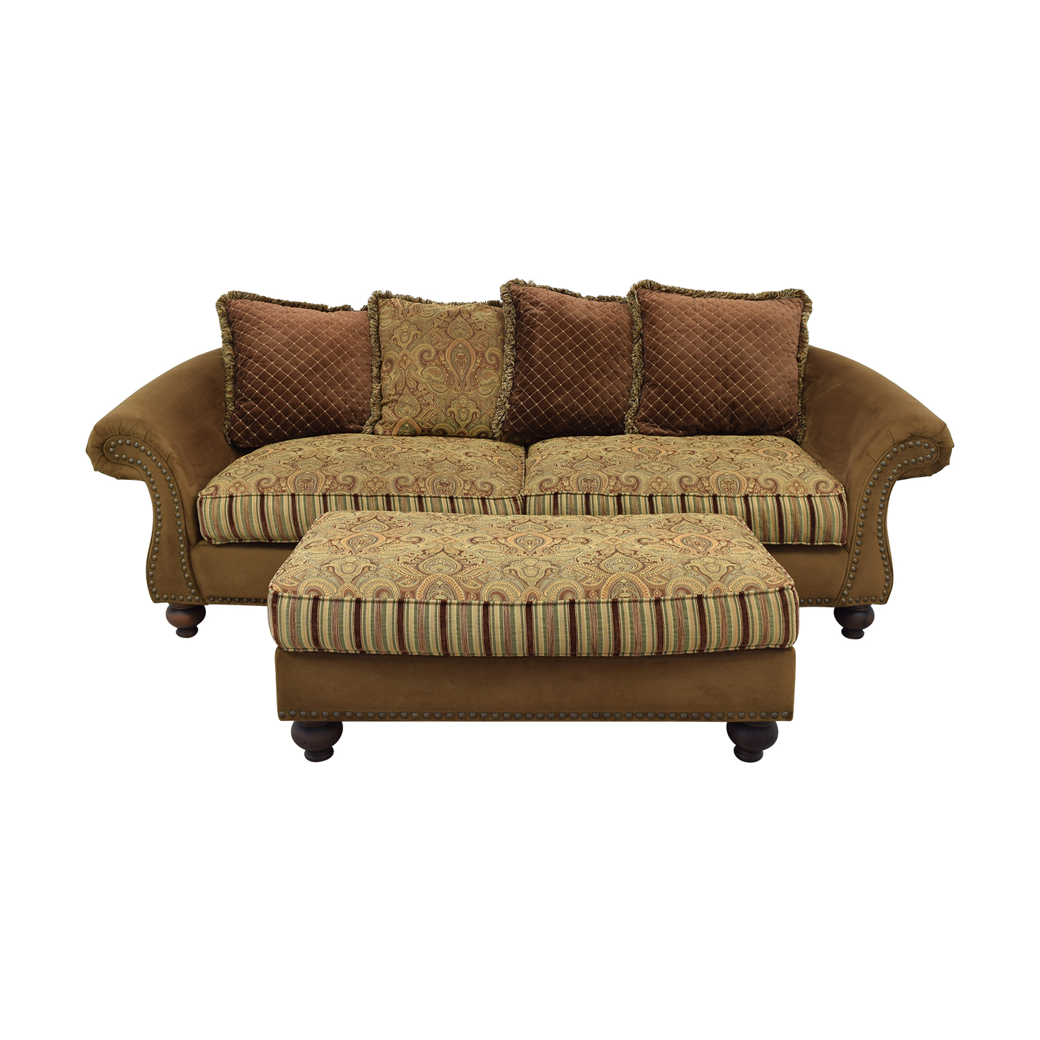 Cindy Crawford Home Cindy Crawford Home Couch and Ottoman coupon