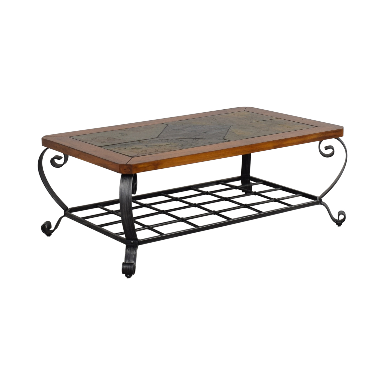 shop Raymour & Flanigan Tile Top Coffee Table Raymour & Flanigan Tables