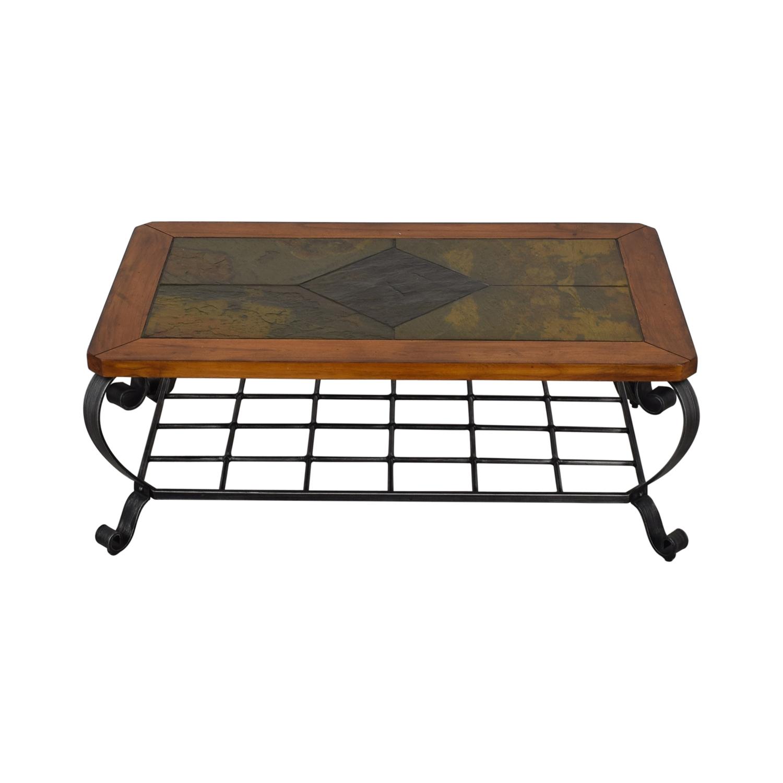 Raymour & Flanigan Raymour & Flanigan Tile Top Coffee Table Tables