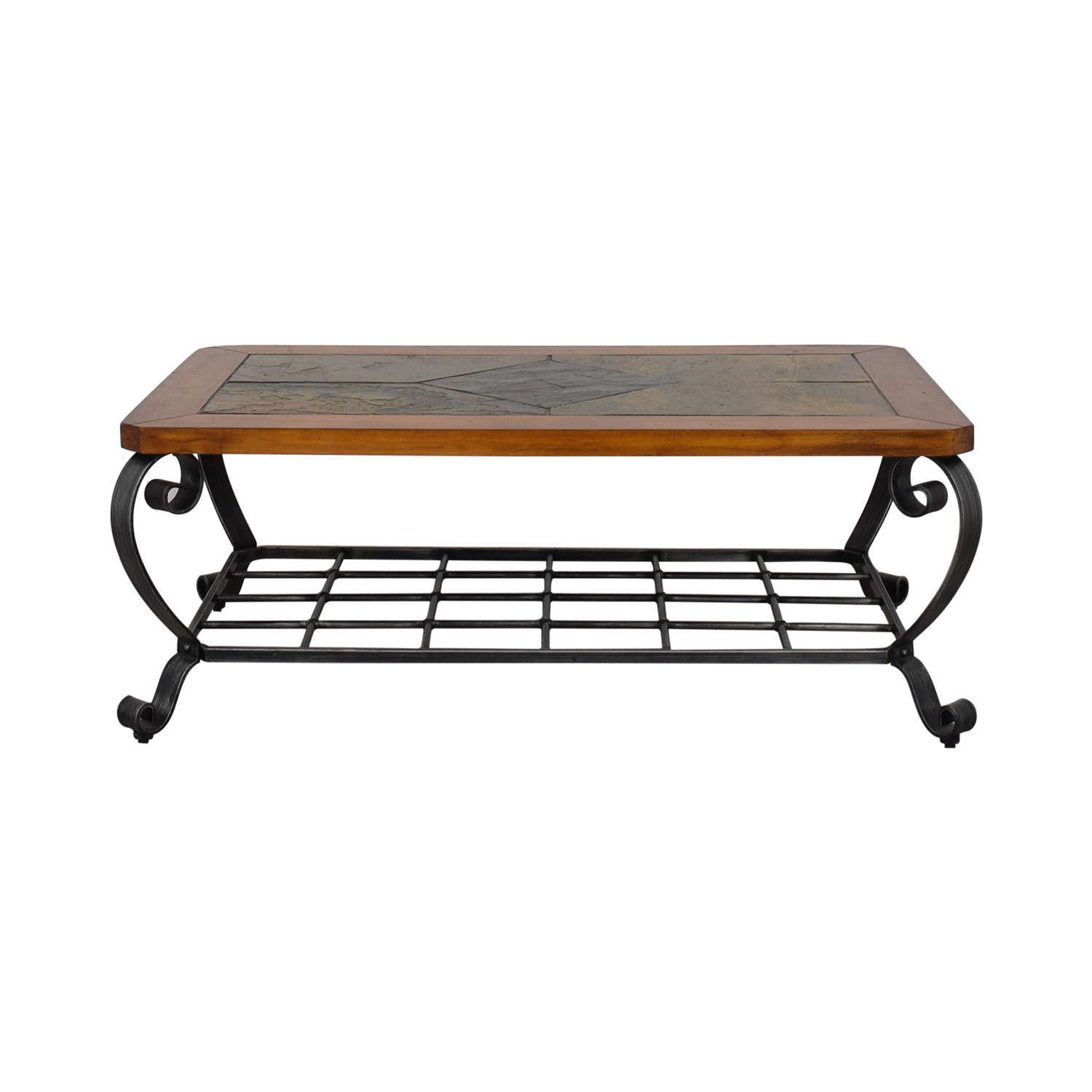 Raymour & Flanigan Raymour & Flanigan Tile Top Coffee Table on sale
