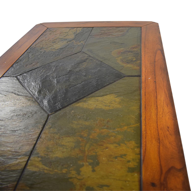Raymour & Flanigan Tile Top Coffee Table Raymour & Flanigan