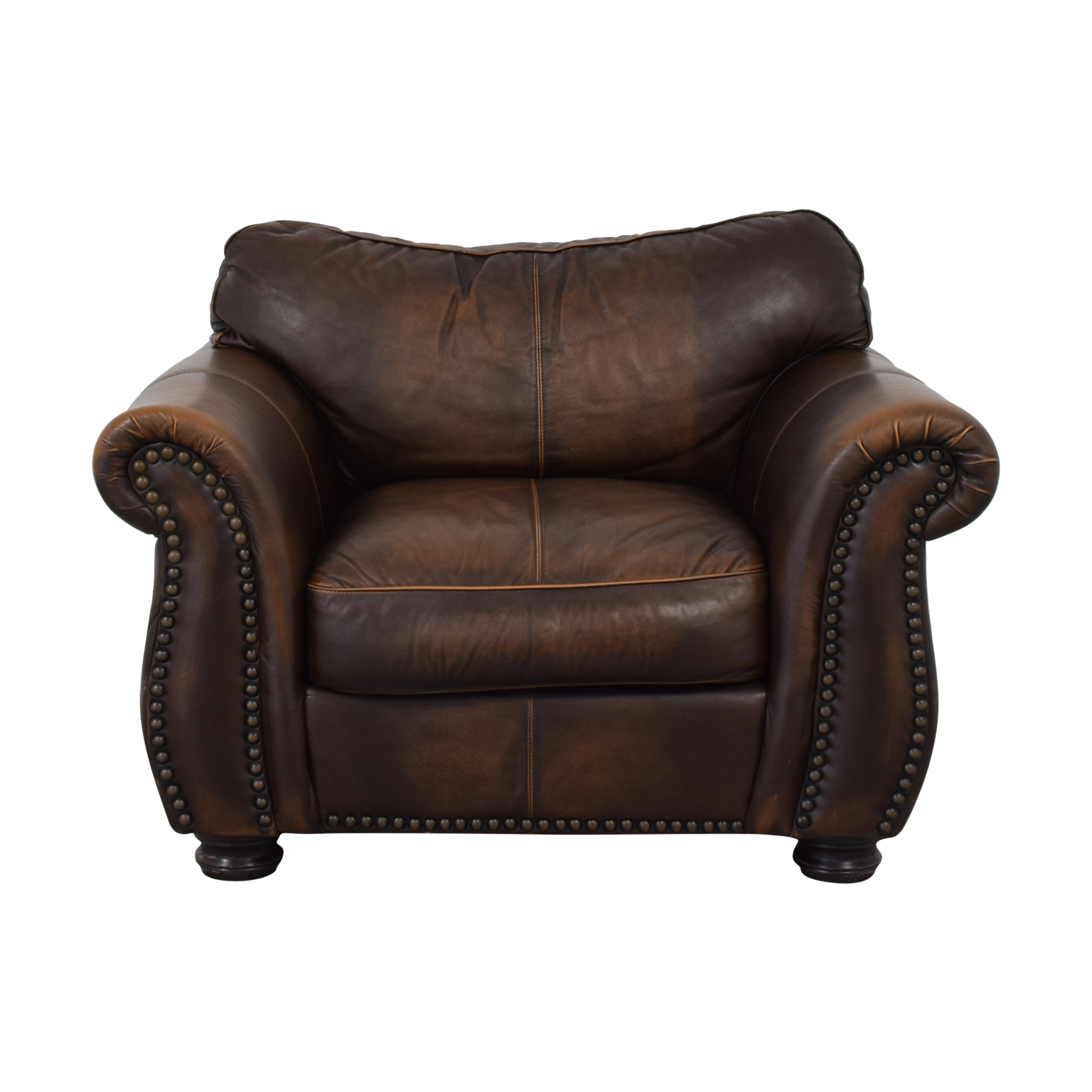 Raymour & Flanigan Raymour & Flanigan Leather Chair