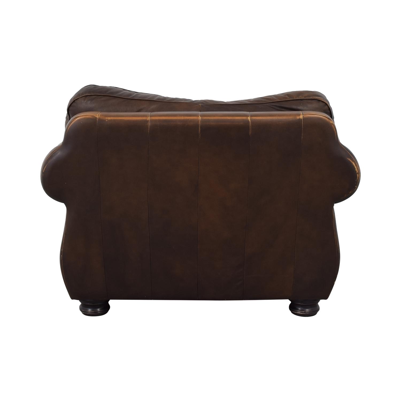Raymour & Flanigan Raymour & Flanigan Leather Chair Chairs