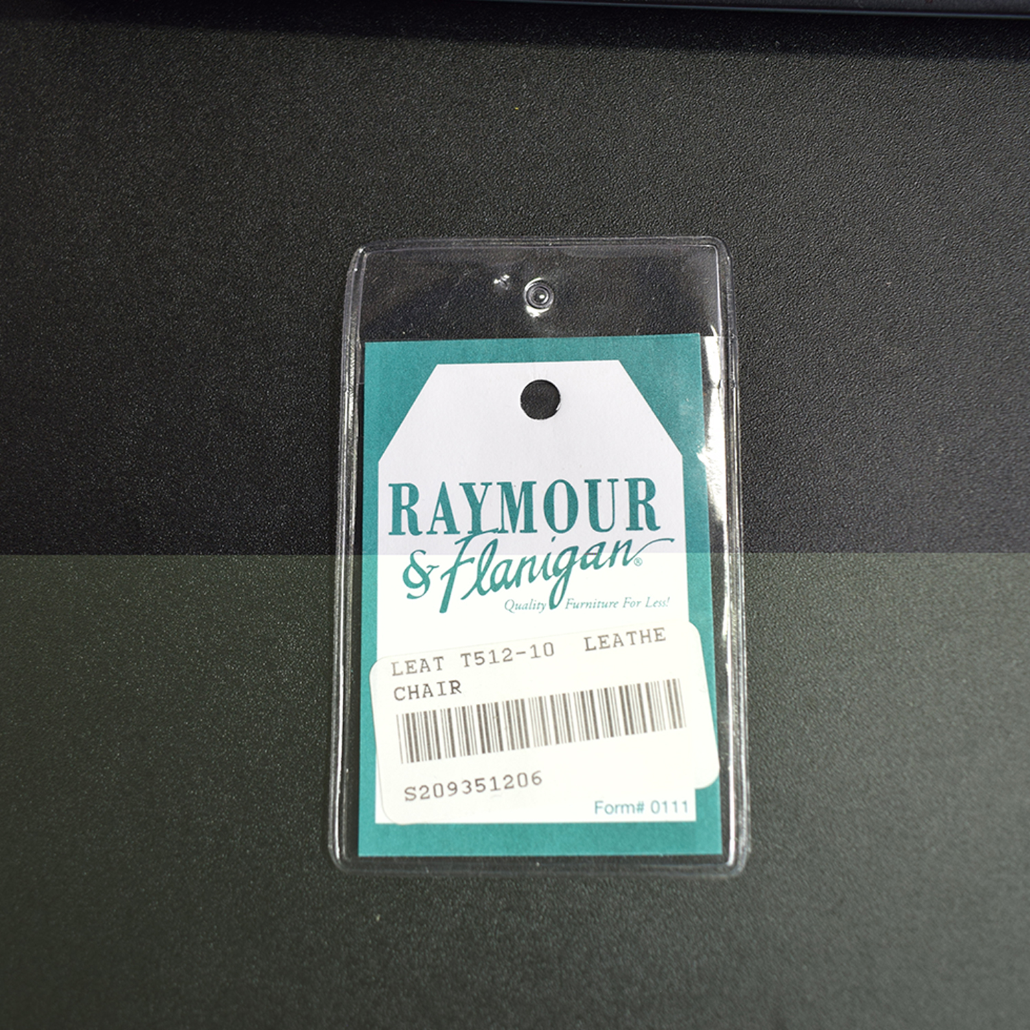 Raymour & Flanigan Raymour & Flanigan Leather Chair discount