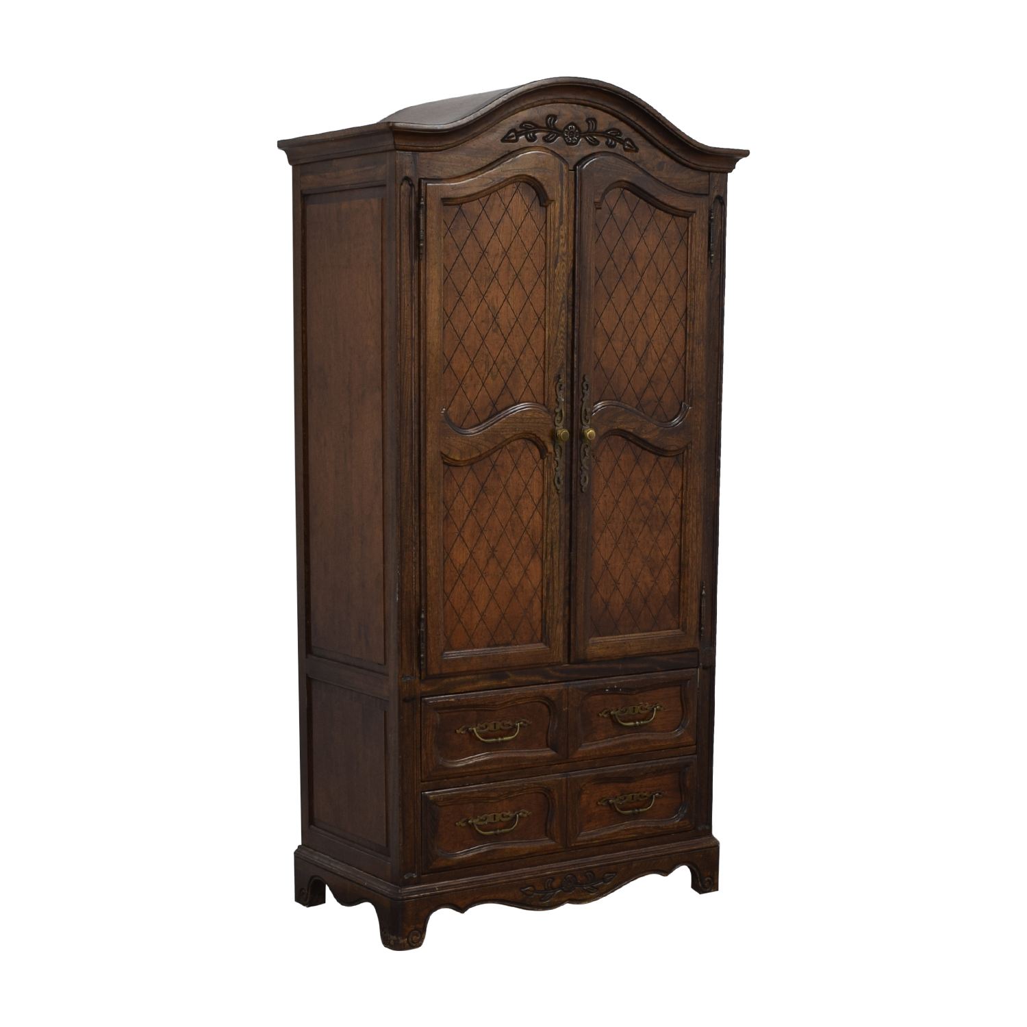 Five Drawer Tall Armoire nj