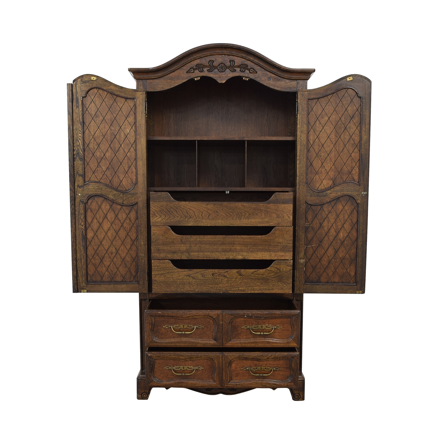 buy  Five Drawer Tall Armoire online