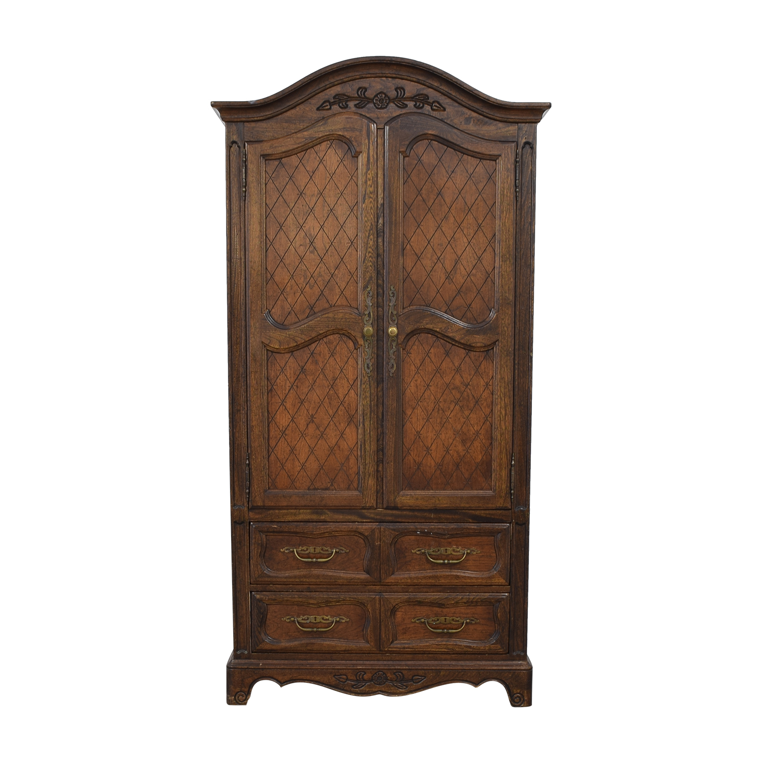 Five Drawer Tall Armoire / Storage