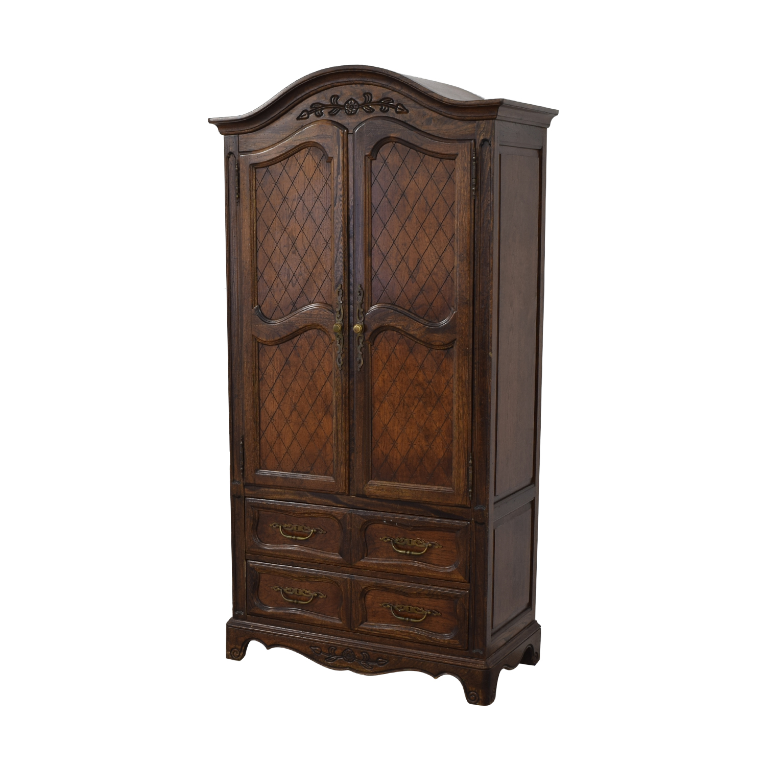buy Five Drawer Tall Armoire  Storage