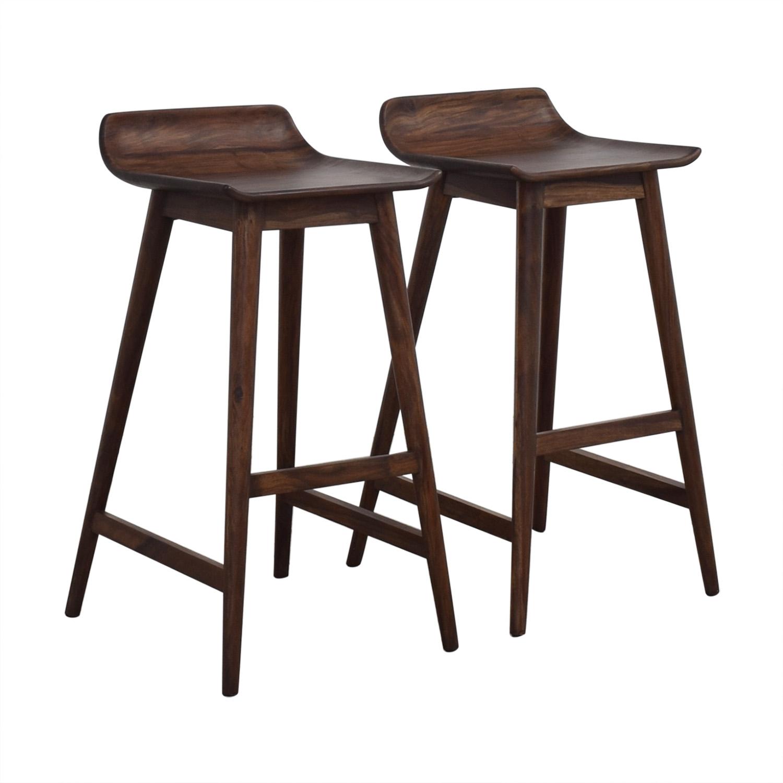 shop CB2 Wainscott Bar Stools CB2 Chairs