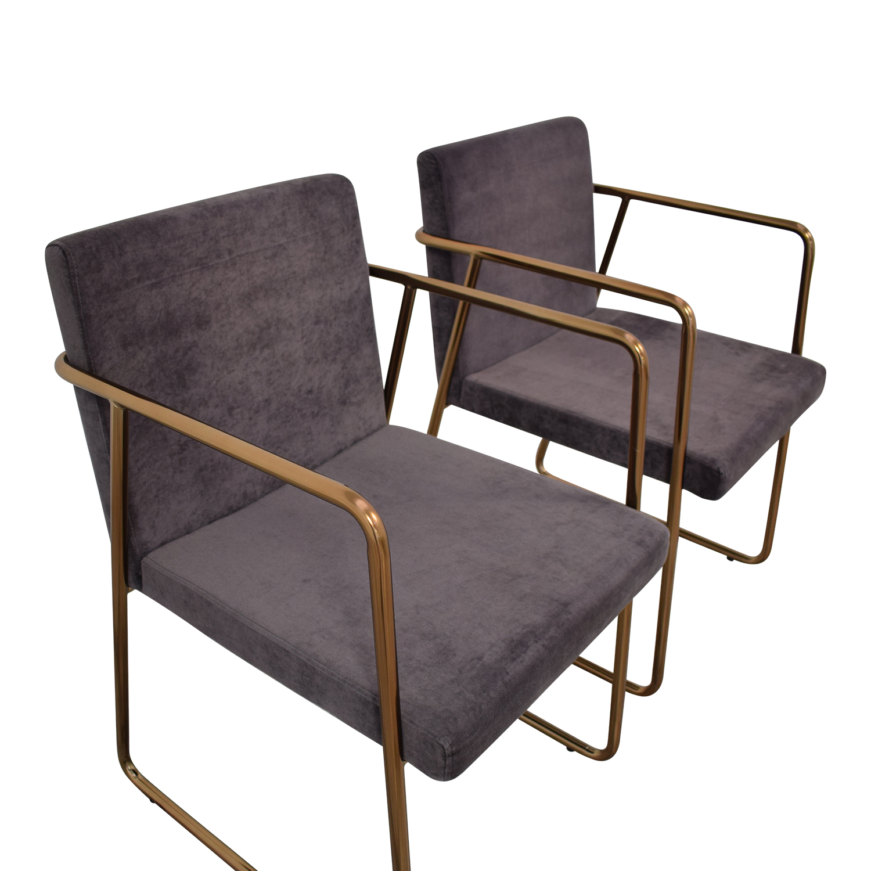 CB2 Rouka Chairs / Chairs