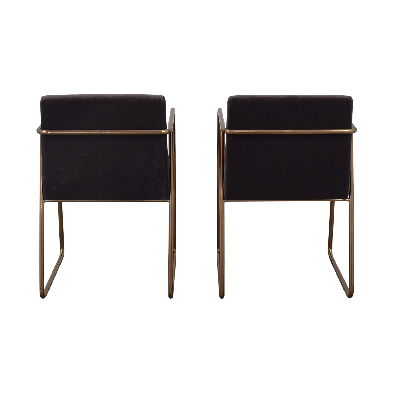 buy CB2 Rouka Chairs CB2 Dining Chairs