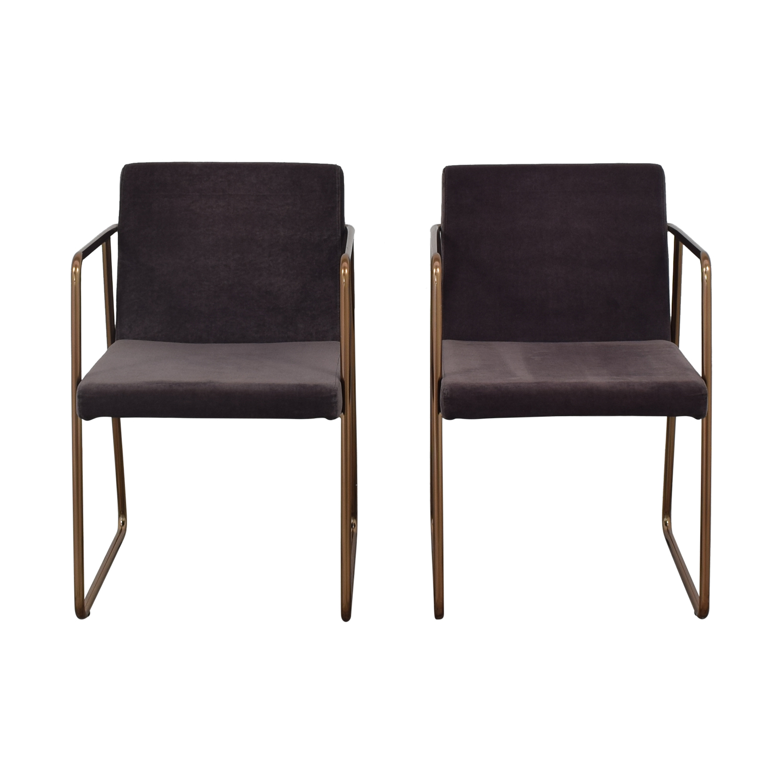 CB2 CB2 Rouka Chairs used