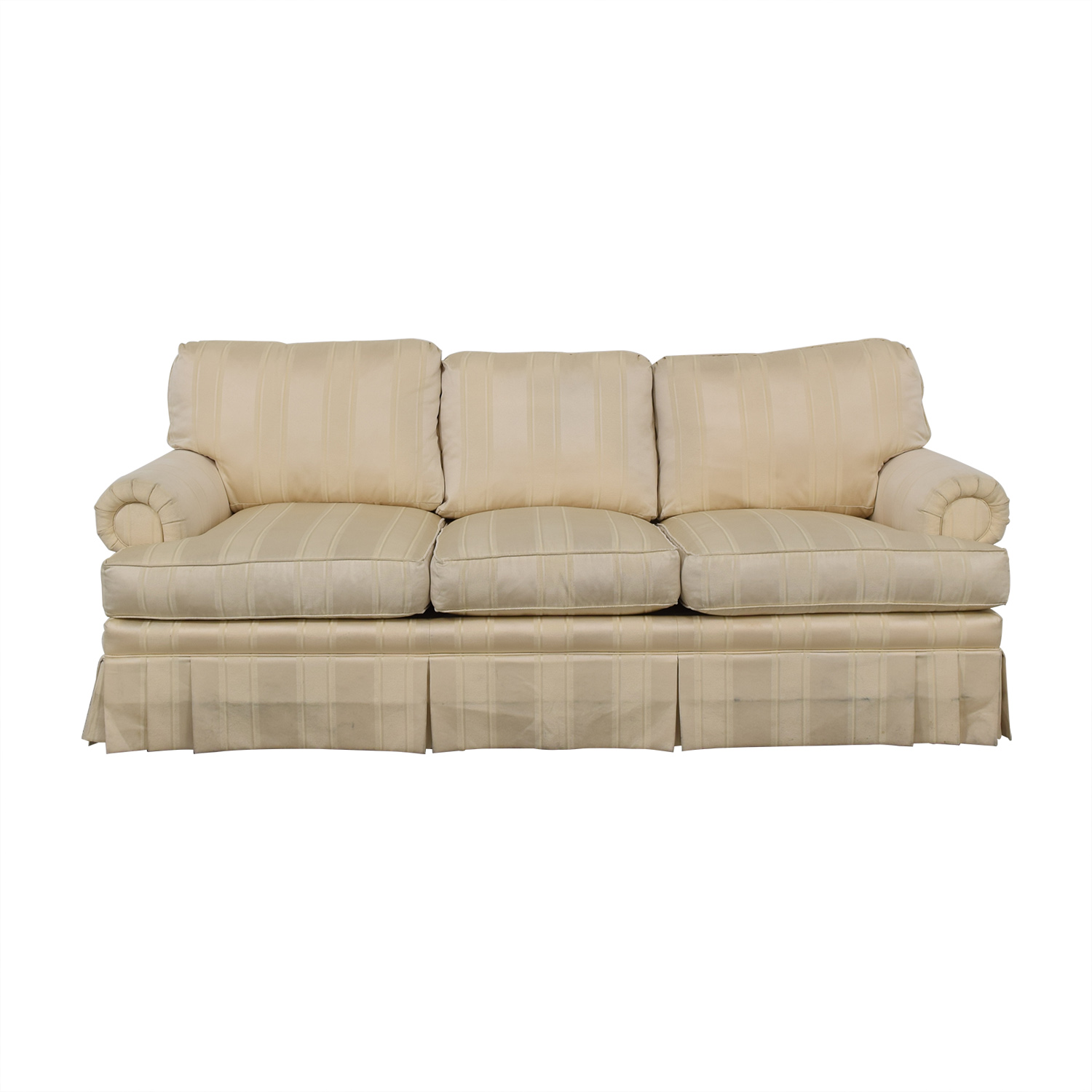 shop Thomasville Three Cushion Sofa Thomasville Classic Sofas