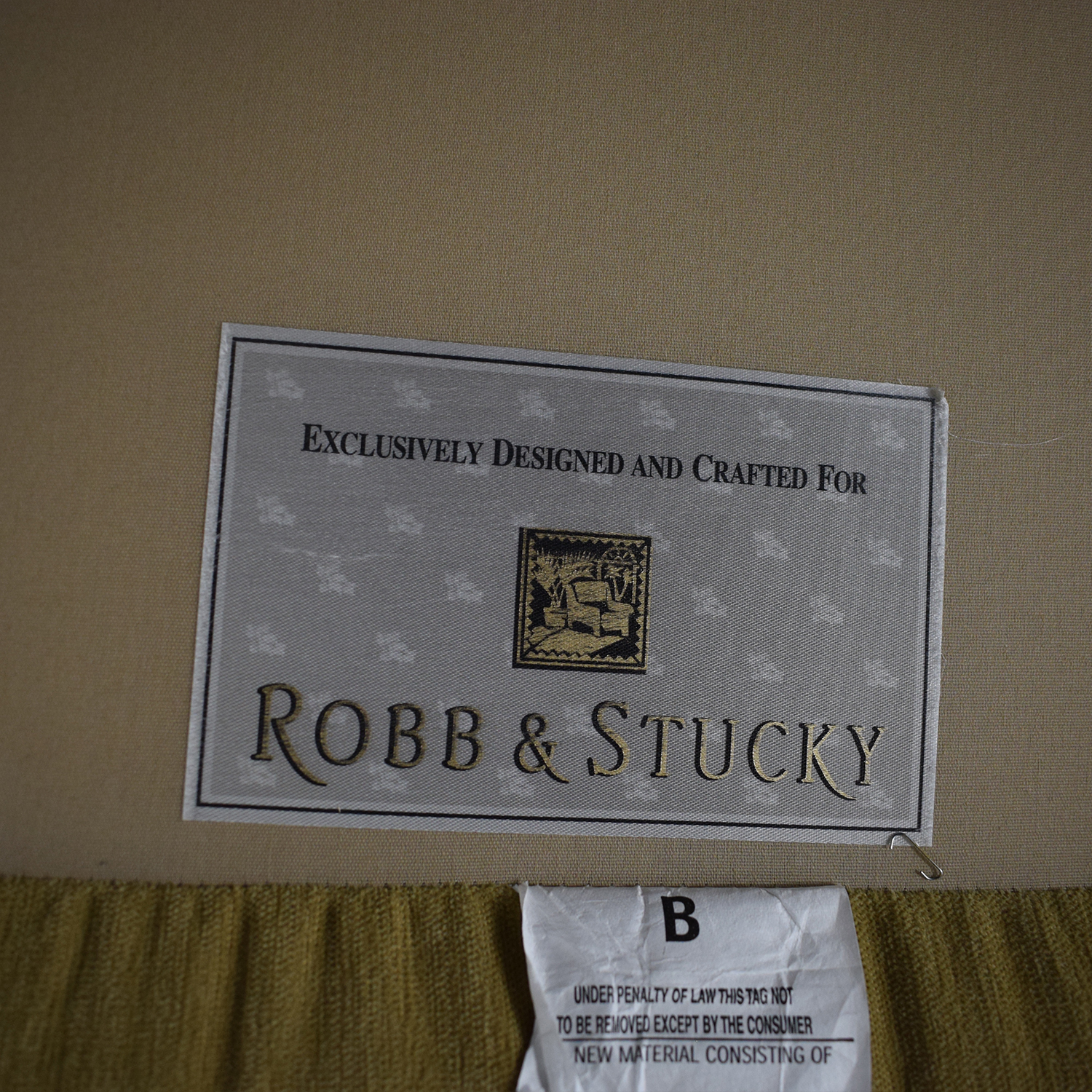 Robb & Stucky Chaise / Chaises