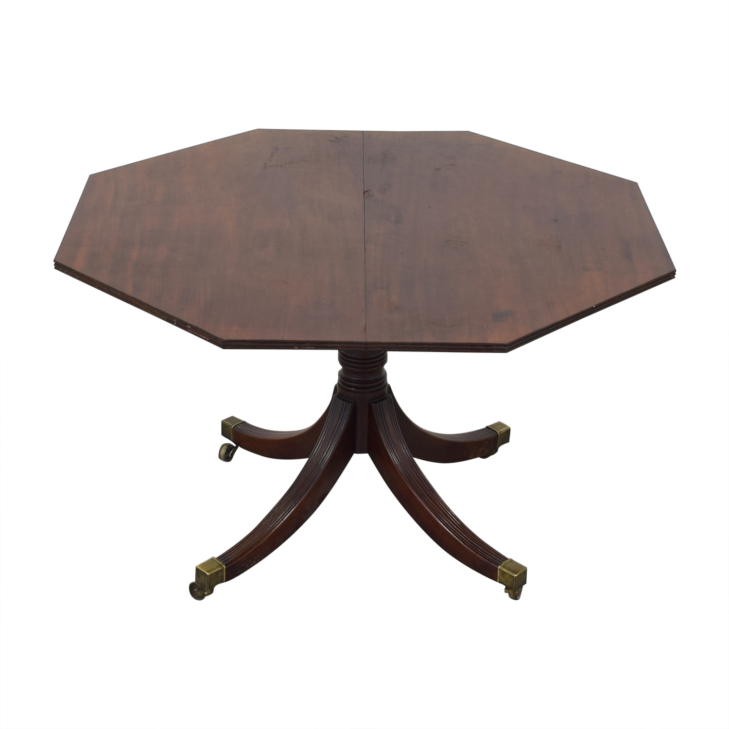 Round Vintage Mahogany Wooden Dining Room Table price