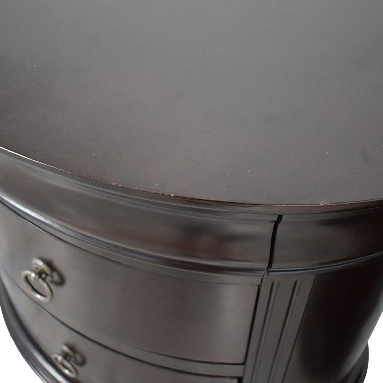 Winners Only Winners Only Round End Tables with Drawers Tables