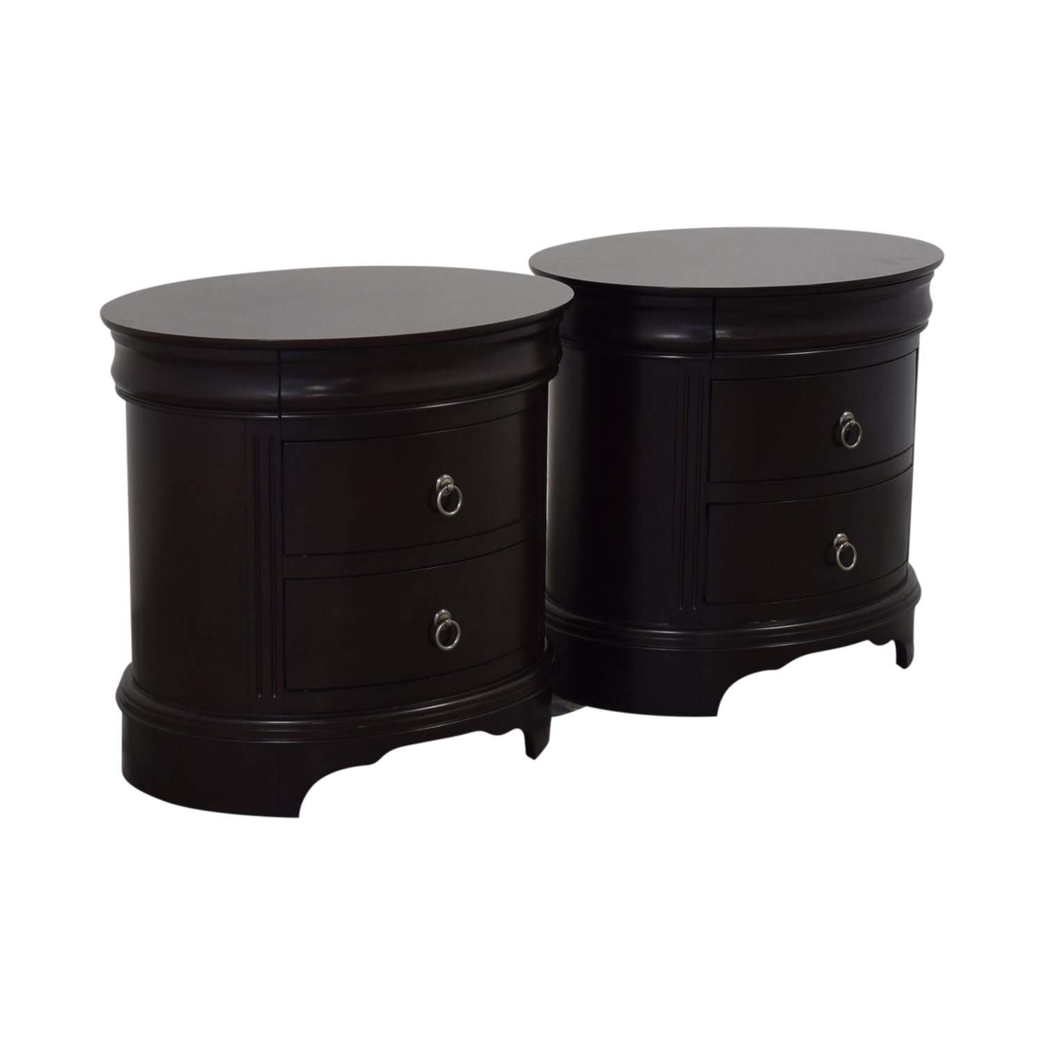 shop Winners Only Round End Tables with Drawers Winners Only