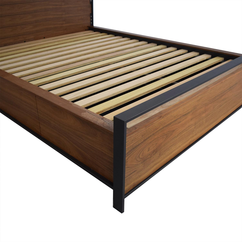 shop Crate & Barrel Crate & Barrel Queen Storage Bed online