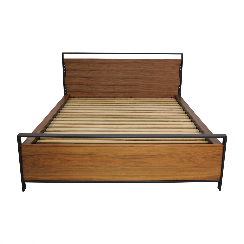 Crate & Barrel Crate & Barrel Queen Storage Bed on sale