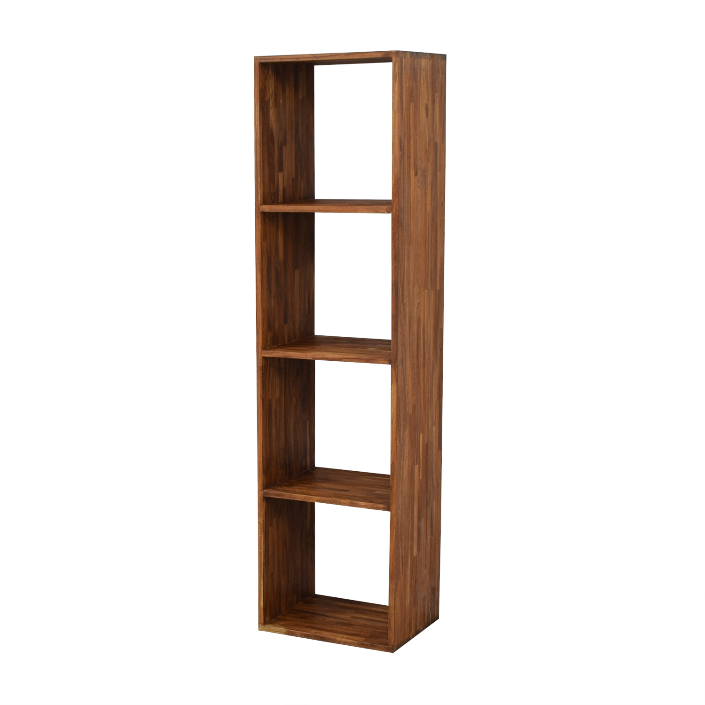 buy ABC Carpet & Home Form Teak Shelf ABC Carpet & Home Storage