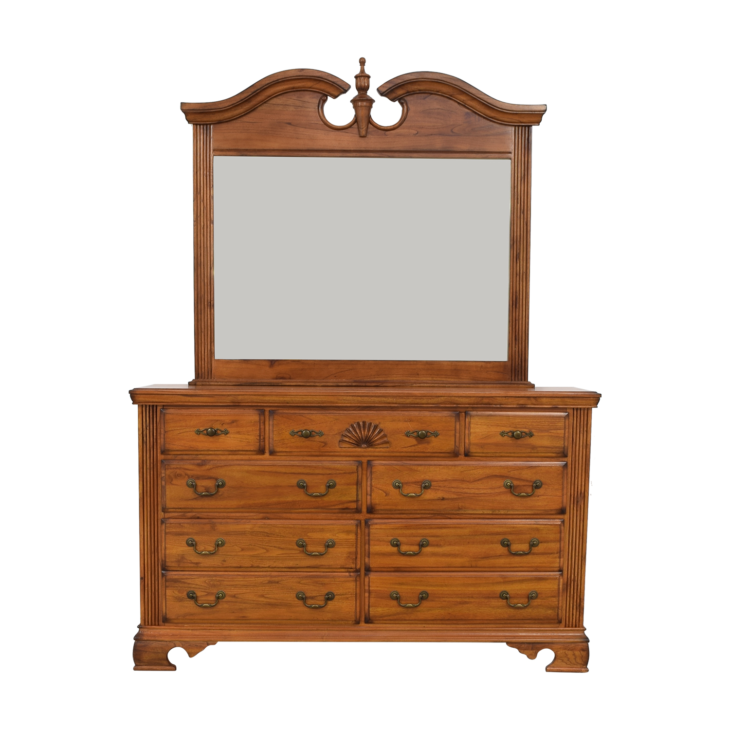 Millenia USA Millenia USA Seven Drawer Dresser with Mirror used